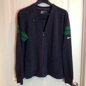 Nike Golf Guys Varsity Cardigan L
